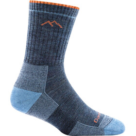 DARN TOUGH VERMONT Hiker Micro Crew Cushion Socks Men denim